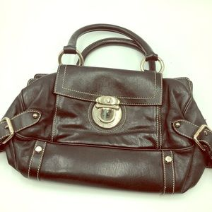 Marc Jacobs Black Leather Bag, Made in Italy